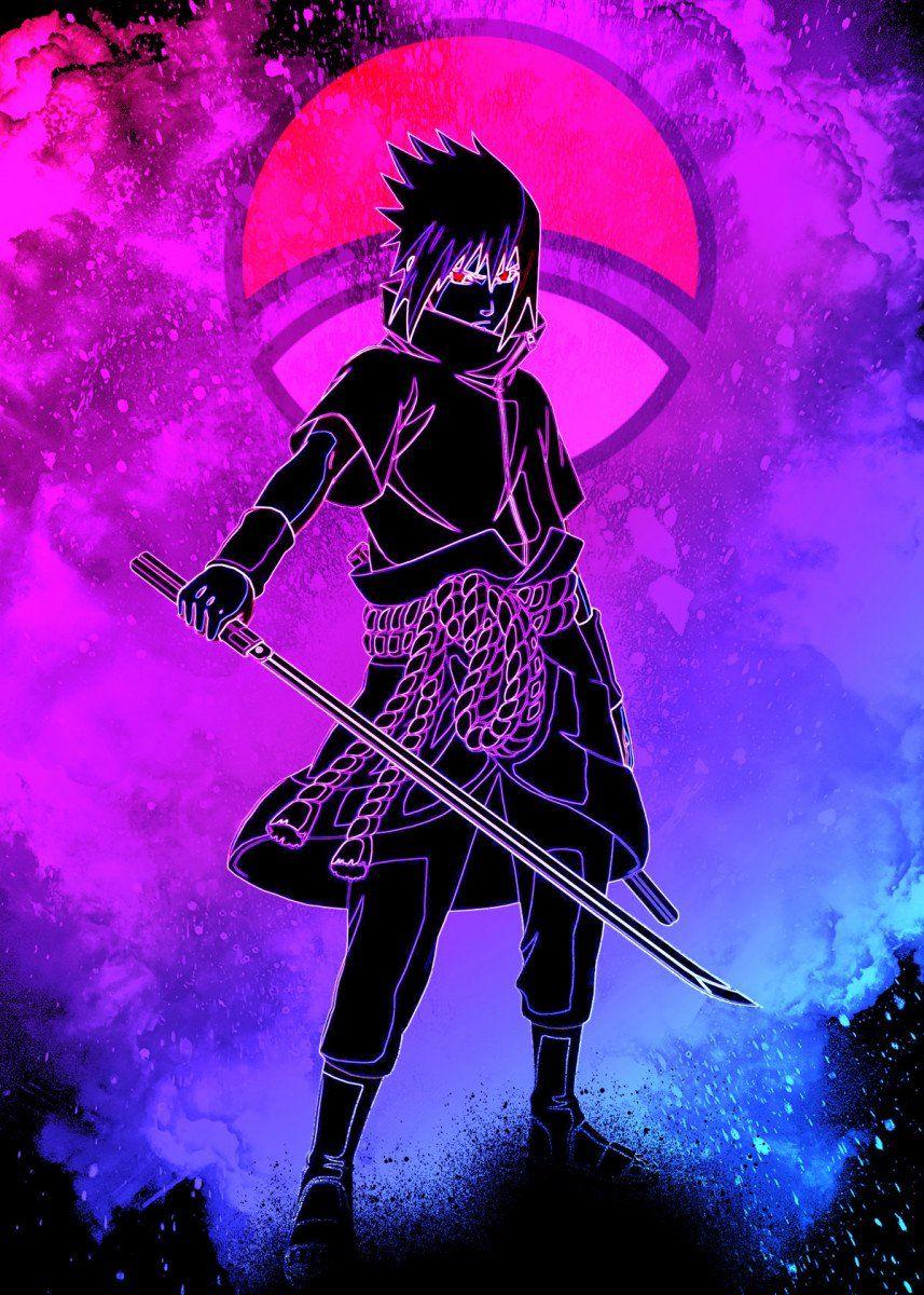 Soul Of The Lost Boy Poster By Donnie Displate Naruto Uzumaki Art Wallpaper Naruto Shippuden Anime Ninja