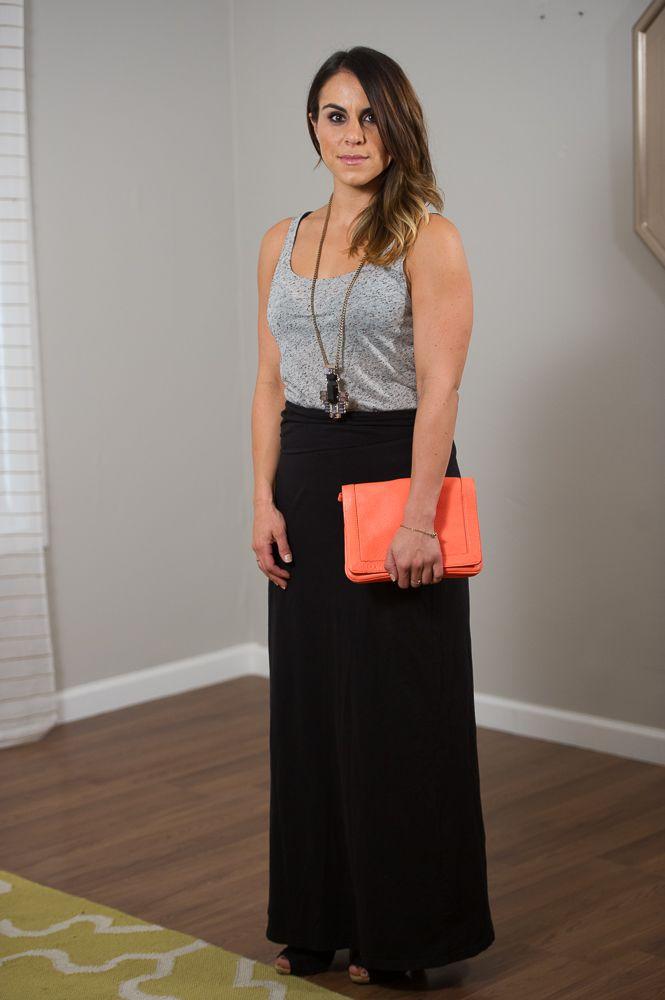 06e49dcff8 6 Ways to Wear a Maxi Skirt - Date Night via @Jennifer Ennesser  {Likehearted}
