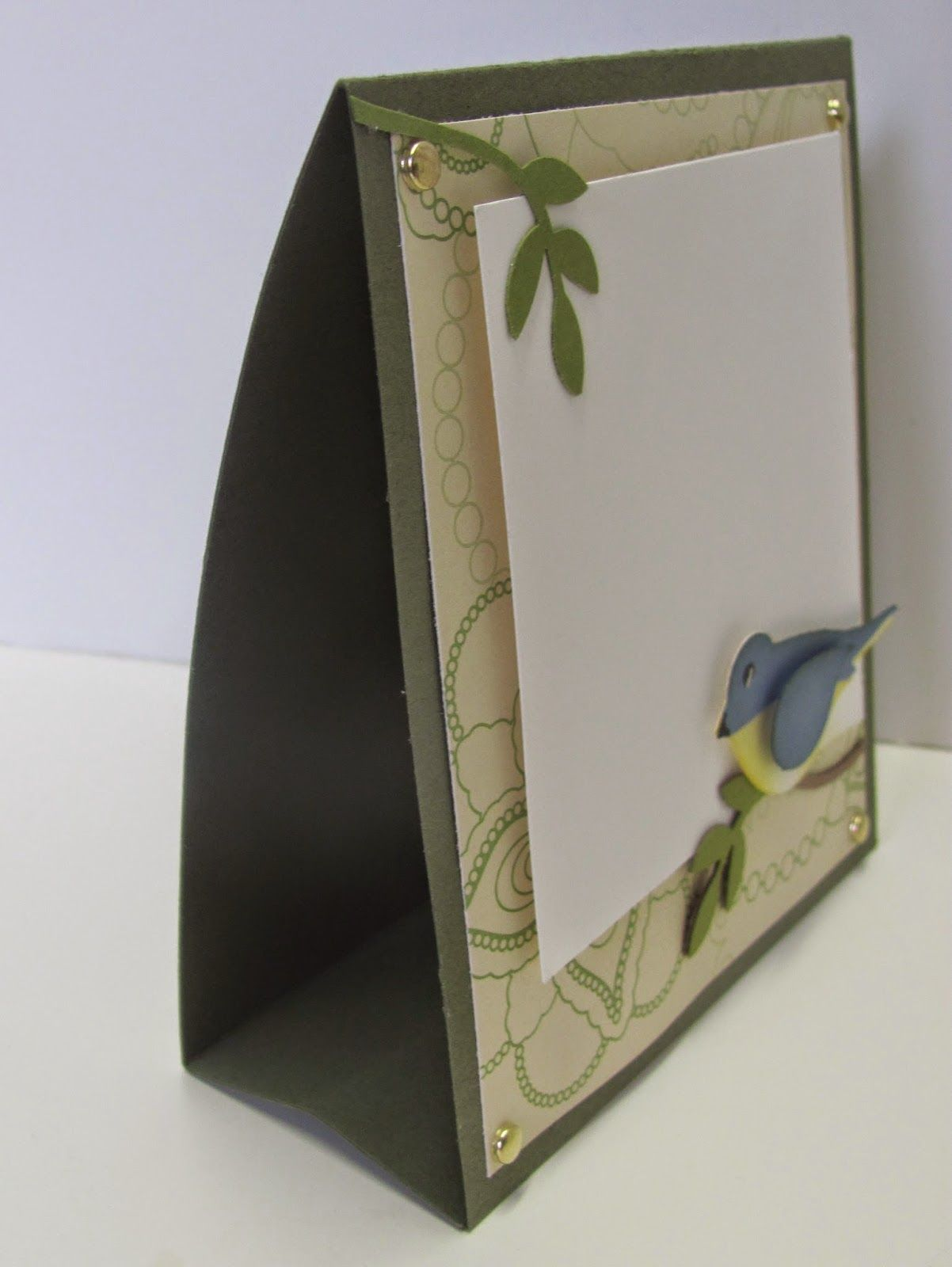 Personally Yours : Stand Up Frame Card | Cards I like | Pinterest ...