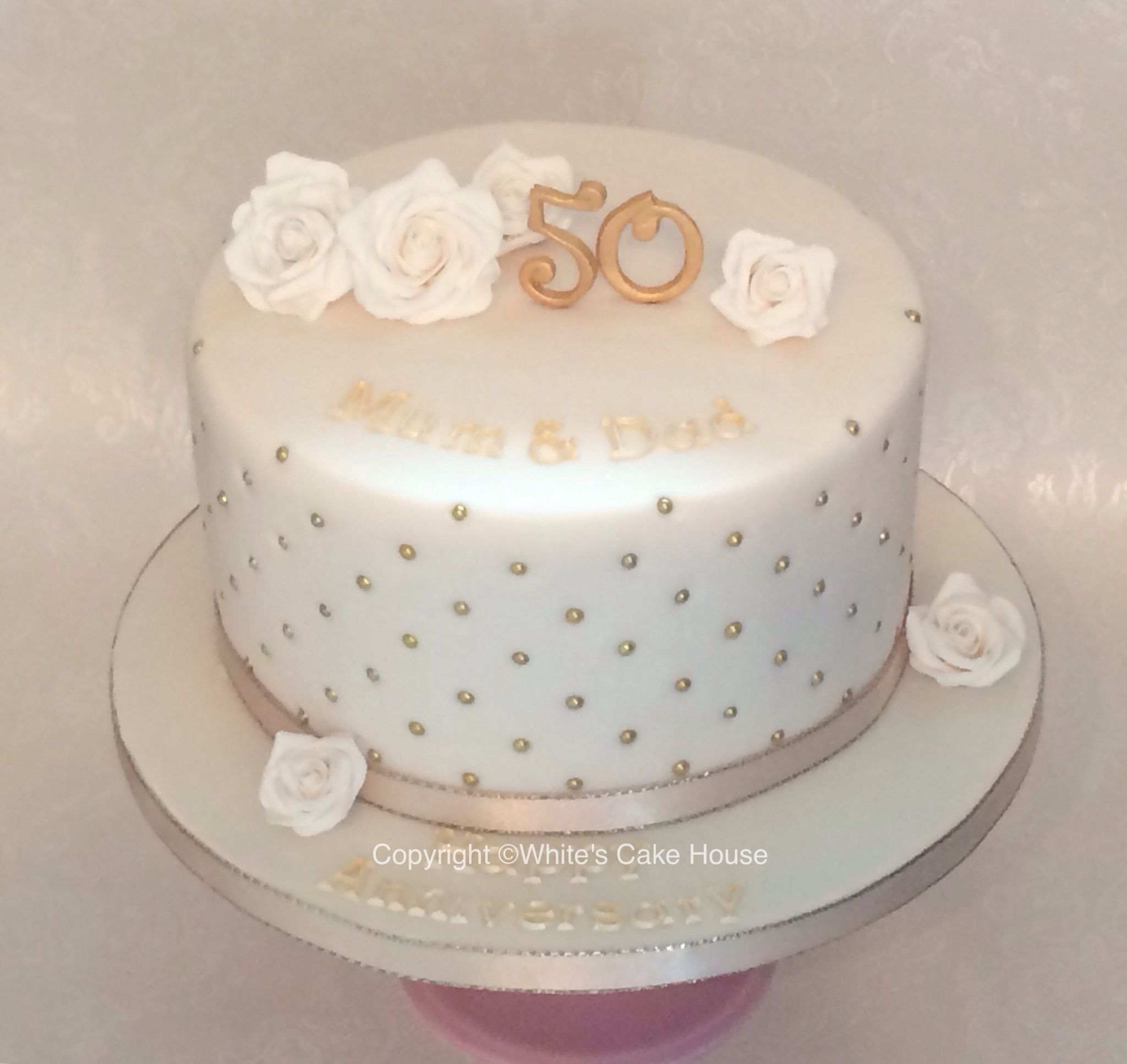 Exelent 45th Wedding Anniversary Cake Gallery - The Wedding Ideas ...