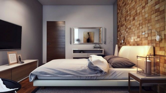 Bedroom Colors And Textures wood-block-textured-feature-wall-665x374 (665×374) | bed room