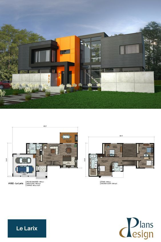 Pin By Mbitjita Tjiramba On Houses House Plans Contemporary House Plans Architecture House