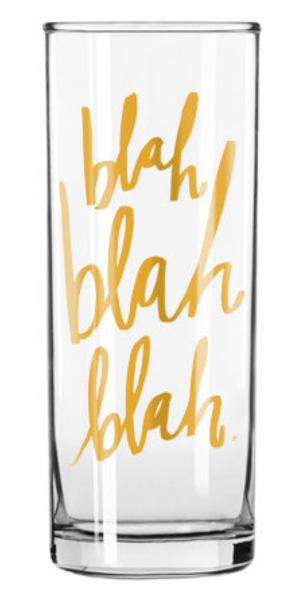 blah blah blah Cocktail Glass – Thistle & Finn