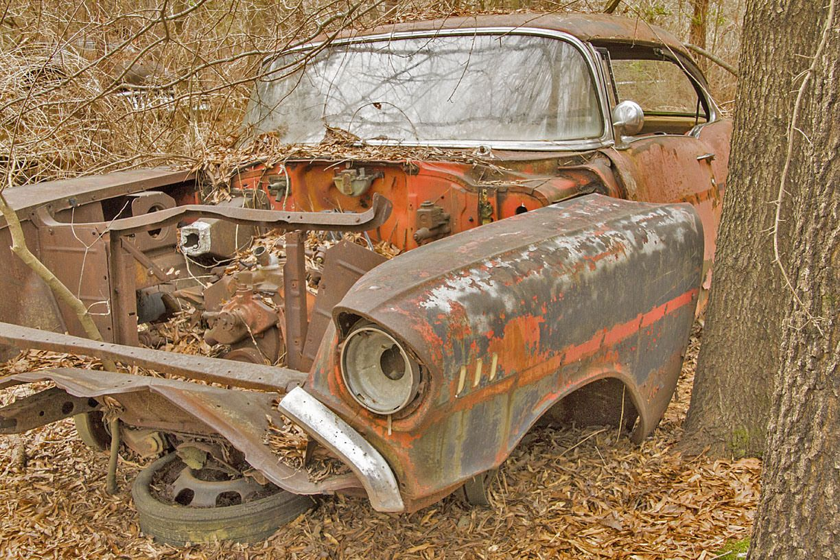 1957 Chevy Bel Air City Car Old Cars Abandoned Cars