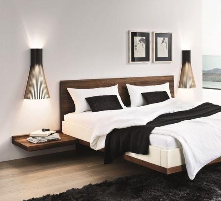 applique murale 4230 noir h60cm secto design. Black Bedroom Furniture Sets. Home Design Ideas