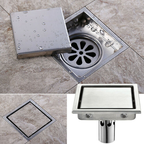 Details About Us Tile Insert Floor Drain Grate Silver Shower
