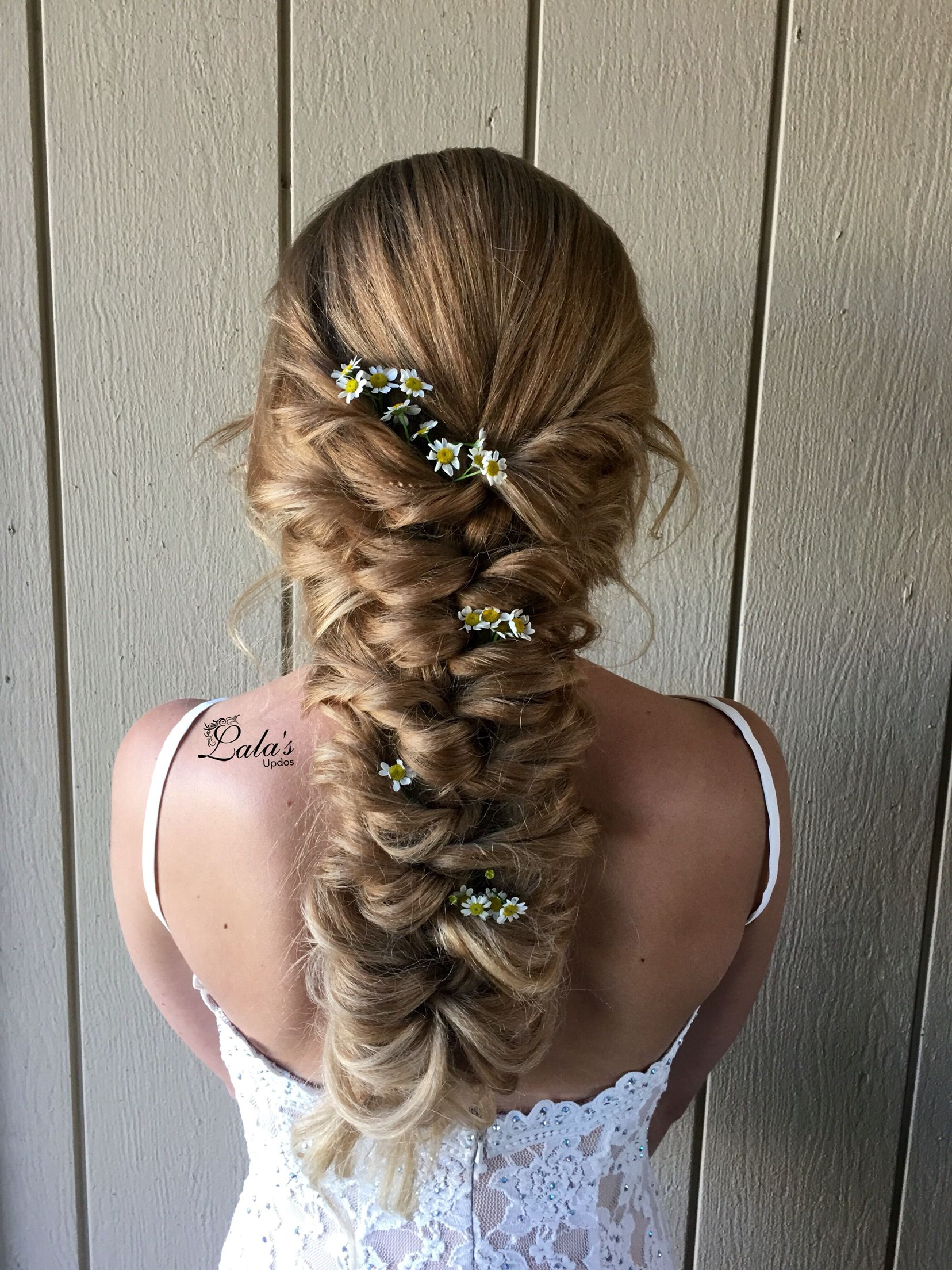braids / braided hairstyles / bridal hairstyles / wedding