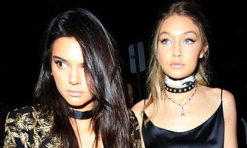 Celebs Wore The Wildest Outfits To Gigi Hadid's 21st Birthday Party