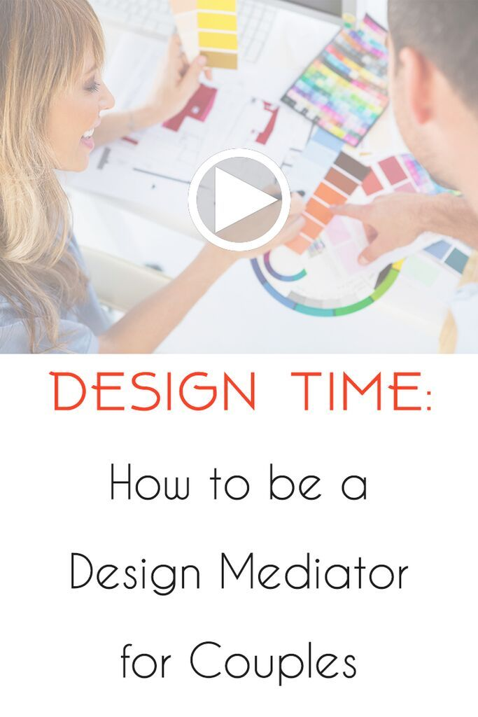 WATCH: Do you have couple-clients who fight ALL THE TIME?! We've all been there! Lori & Kelli speak from experience when they talk #DesignMediation  Watch the complete #DesignTime episode: http://designcampus.com/design-time