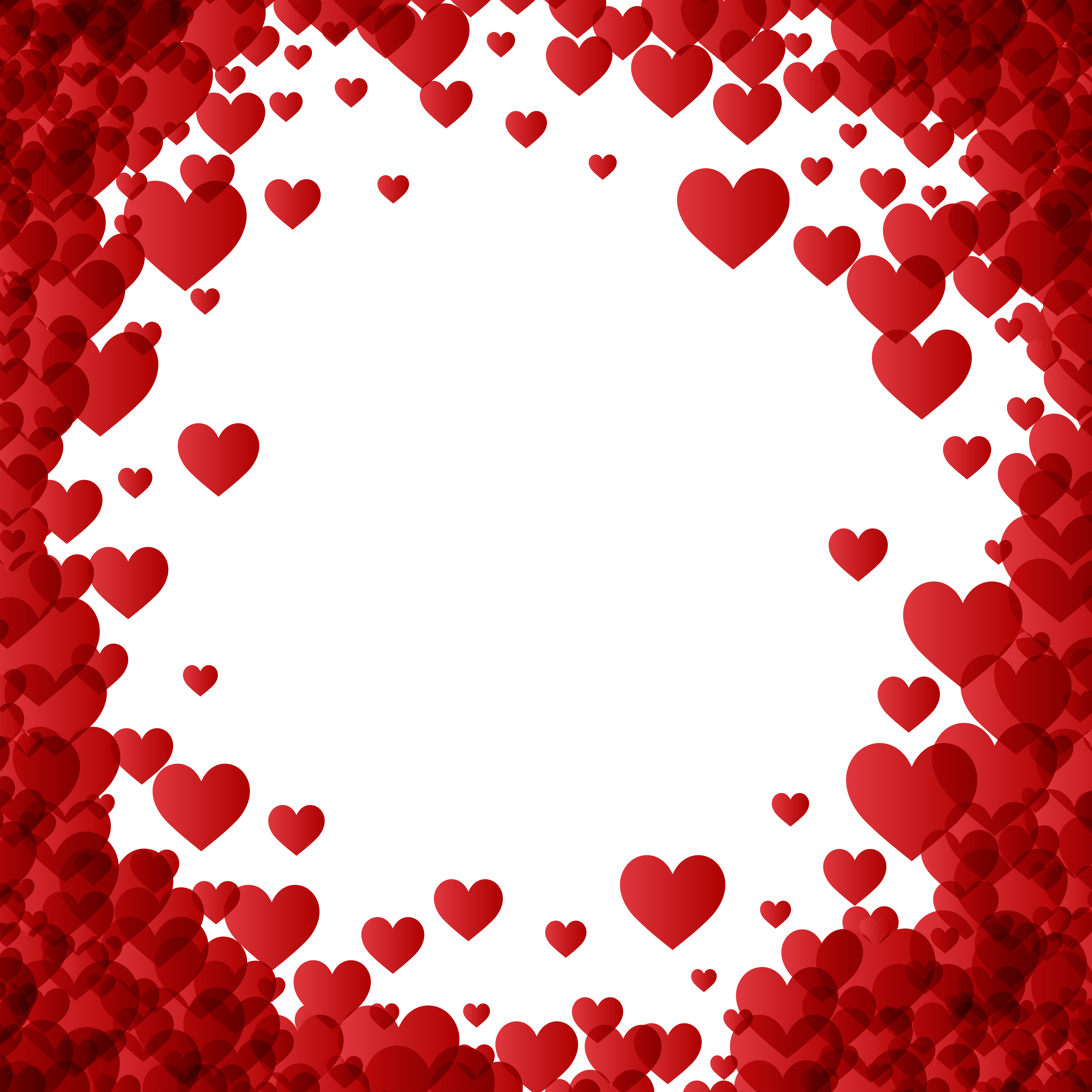 Valentine S Day Heart Border Frame Transparent Image Gallery Yopriceville High Qualit Valentine Background Valentines Day Border Valentines Day Background