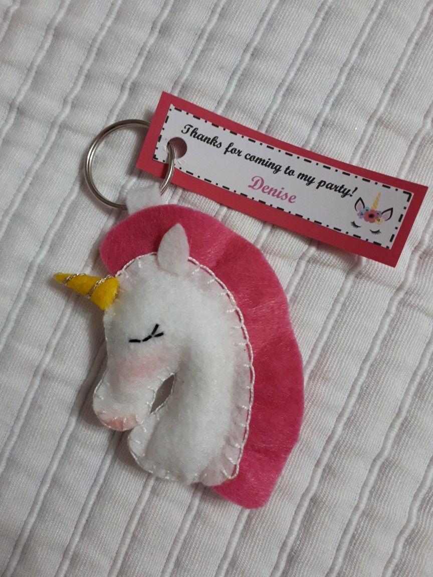 Adorabile Cucciolo di Elefante con design rosa Key Chain//Portachiavi favore