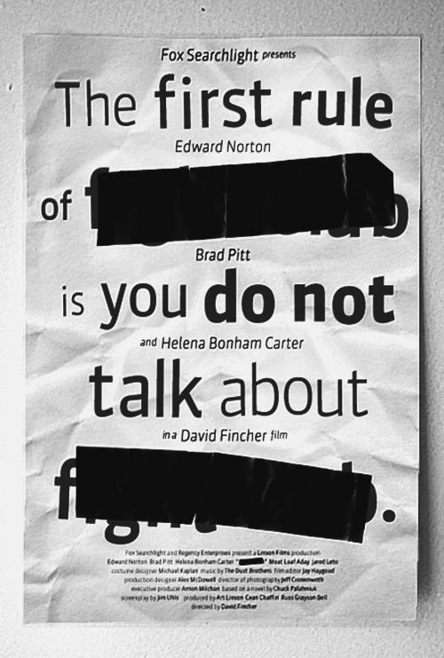 The first rule.