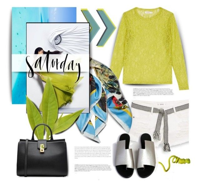 """Chartreuse Saturday"" by pattykake ❤ liked on Polyvore featuring BoConcept, MANGO, Dolce&Gabbana, Marc Jacobs and Rawlings"