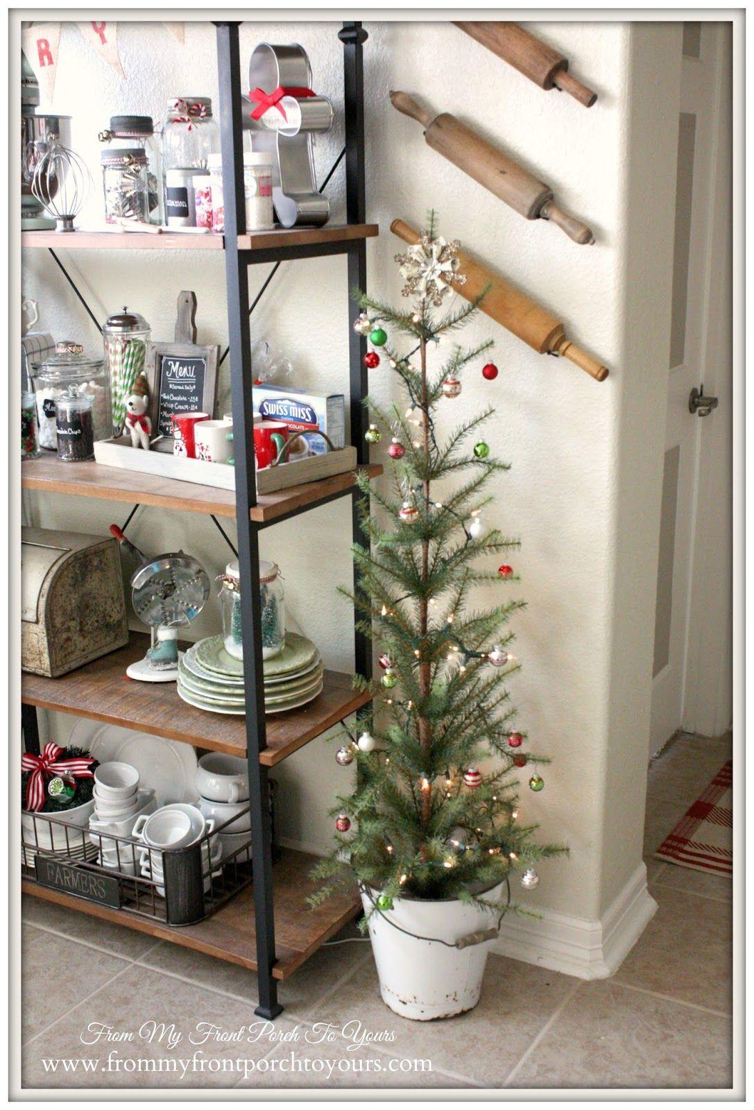 French Farmhouse Christmas Kitchen | Farmhouse christmas kitchen ...