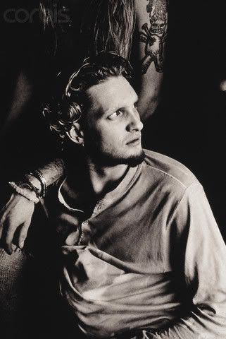Layne Staley Jerry Cantrell Behind Shoulder Tattoo Goatee Wavy