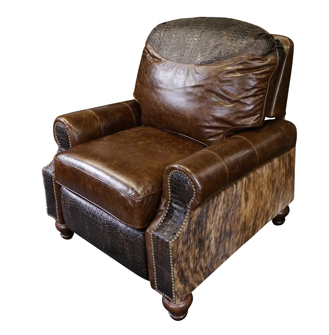 Western Royalty Leather Recliner Leather Recliner Chair Sofas