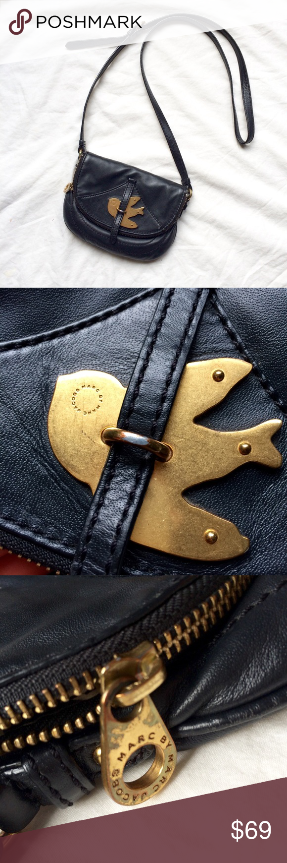 Hp Mbmj Petal To The Metal Crossbody Marc Jacobs Logo Marc Jacobs Bag Crossbody Bag
