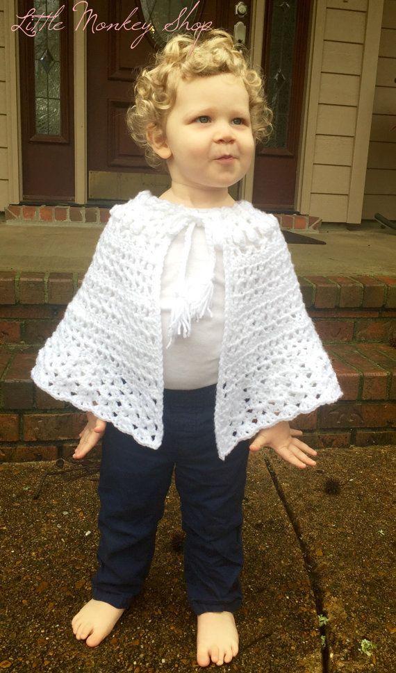 Easter Crochet Pattern Girls Shawl PATTERN, Girls Shawl Pattern ...