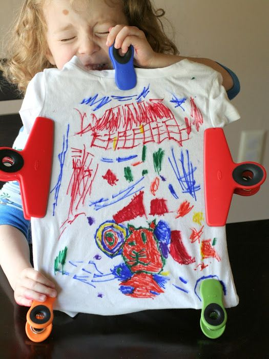 Make Your Own Shirt Sharpie Tie Dye From Fun At Home With Kids