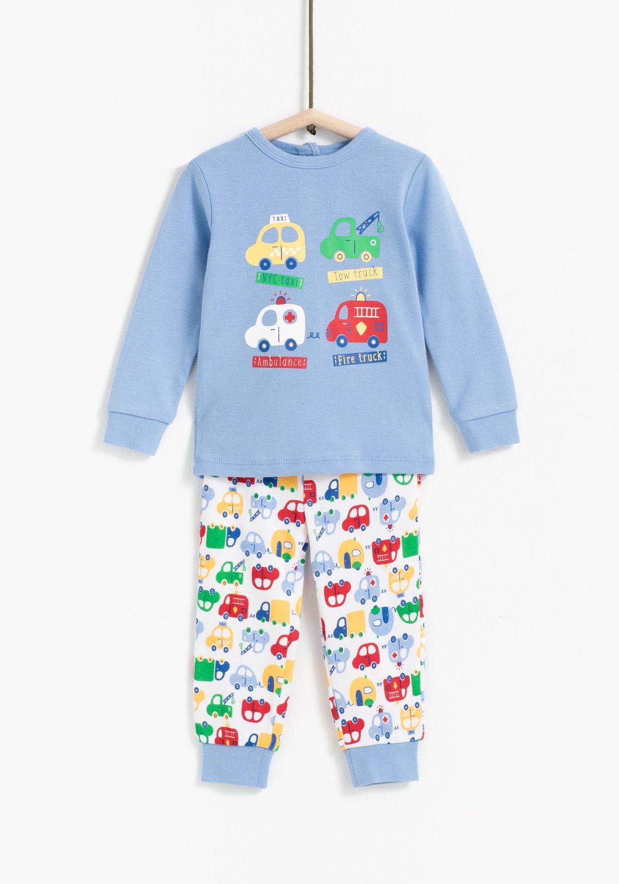 nueva precios más bajos calidad primero estilo clásico Pijama de dos piezas estampado TEX | Baby Fashion | Pijamas ...