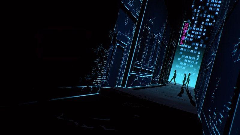 Cyberpunk Black Cityscape Dark Minimalism Wallpaper Tim Beta