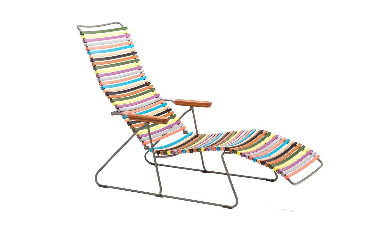 Houe Click Sunlounge Liegestuhl Multicolor 1 Outdoor In 2020