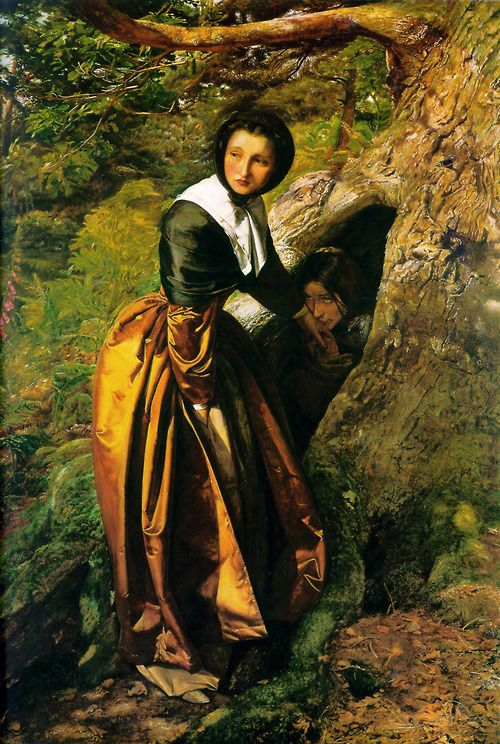 The Proscribed Royalist, 1651 by John Everett Millais, 1853.