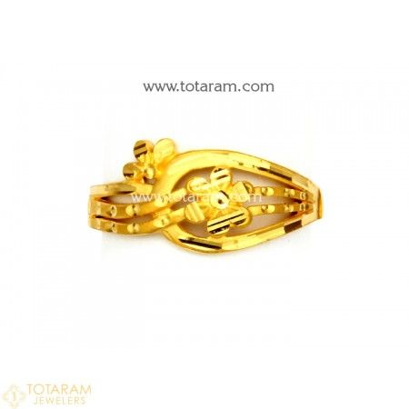 096d5341e 22K Gold Ring For Women - 235-GR5247 - Buy this Latest Indian Gold Jewelry  Design in 2.100 Grams for a low price of $134.40