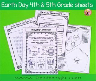 Earth Day Worksheets 4rd Grade FourthGradeFriendscom