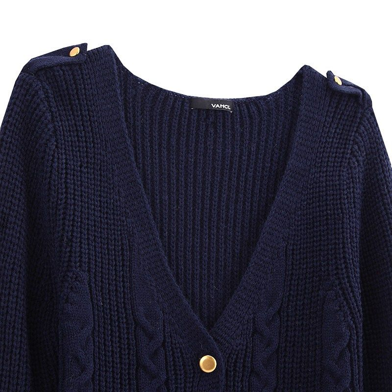VANCL Anfisa Cable Knit Cardigan | http://fashionforpassion.org ...