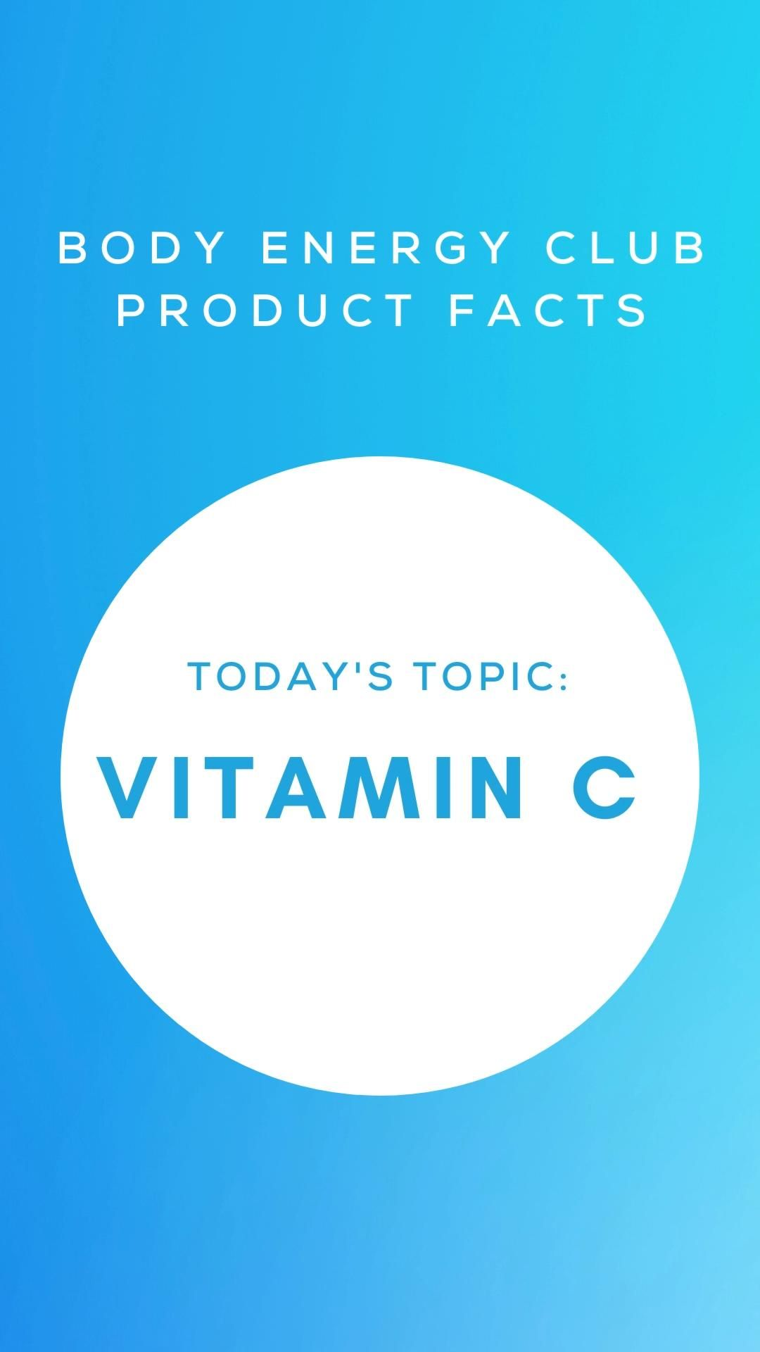 Product Facts - Vitamin C
