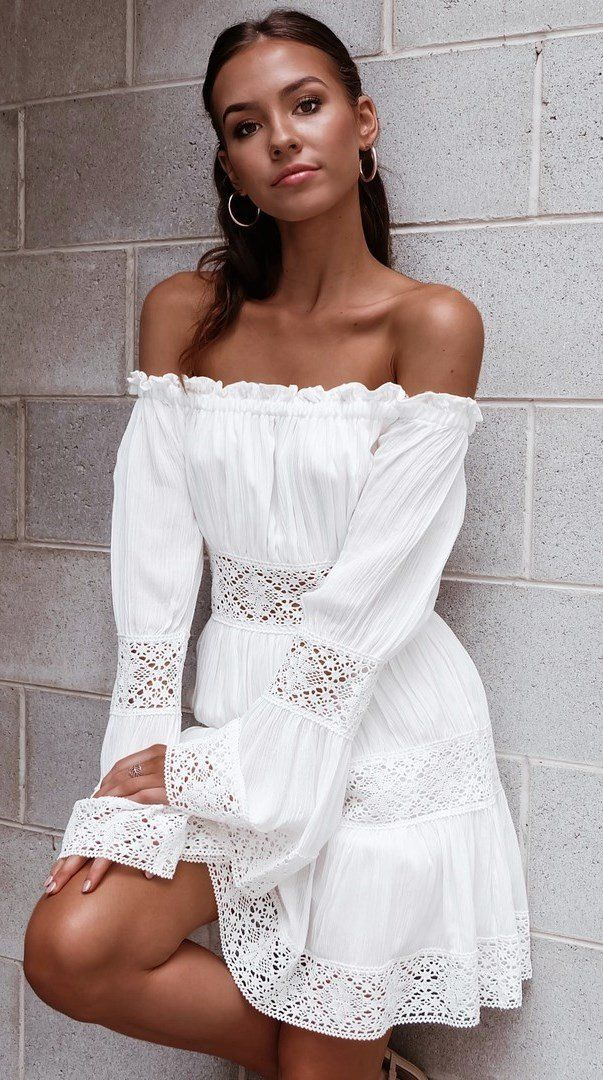 270f5897938 best off-shoulder dress so to wear everyday this summer | Bohemian ...