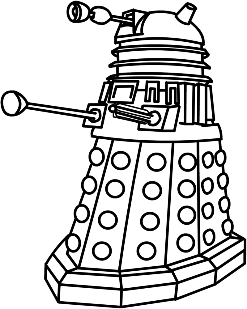 Dalek Clip Art More From The2ndD Kid Projects