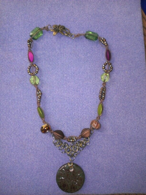 Macrame and chain maille