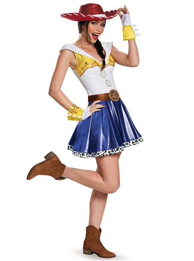 540bbd183d163 Jessie de Vestido Toy Story Traje Feminino para Festa a Fantasia Halloween