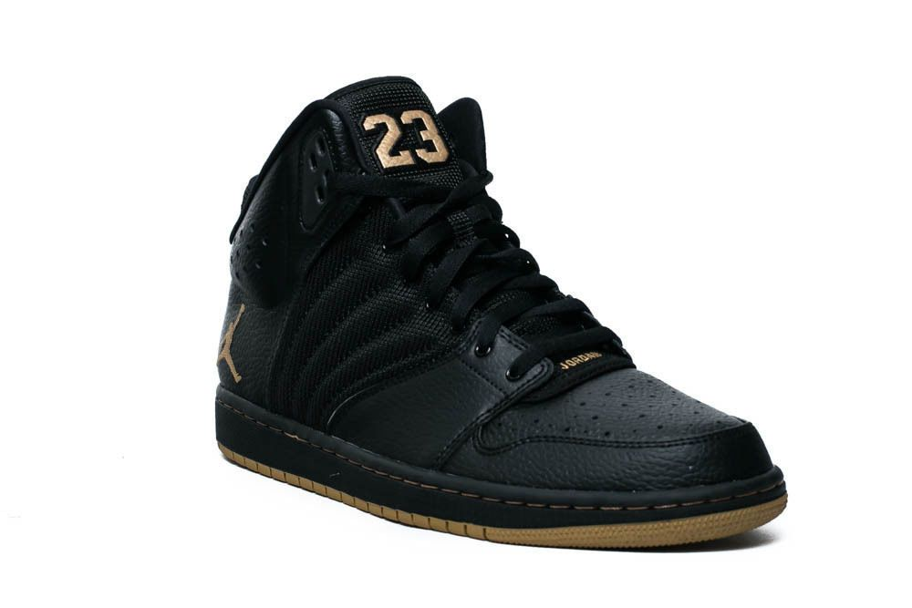 best loved c8a3e bbd4a Nike Men s Jordan 1 Flight 4 Premium Basketball Shoes 838818 070 Black Gold   Nike  BasketballSneakers