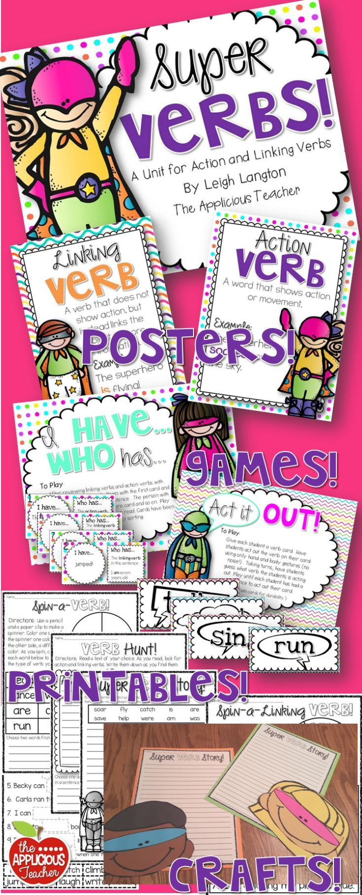Pin By Adrienne Shendler On Fourth Grade Linking Verbs Verbs Activities Teaching Grade [ 1817 x 735 Pixel ]
