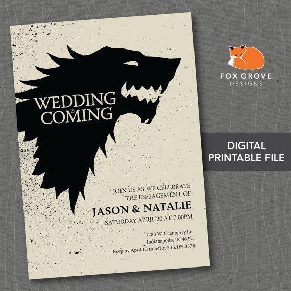 PHOTOS: 25 Amazing Game of Thrones Wedding Ideas from Pinterest ...