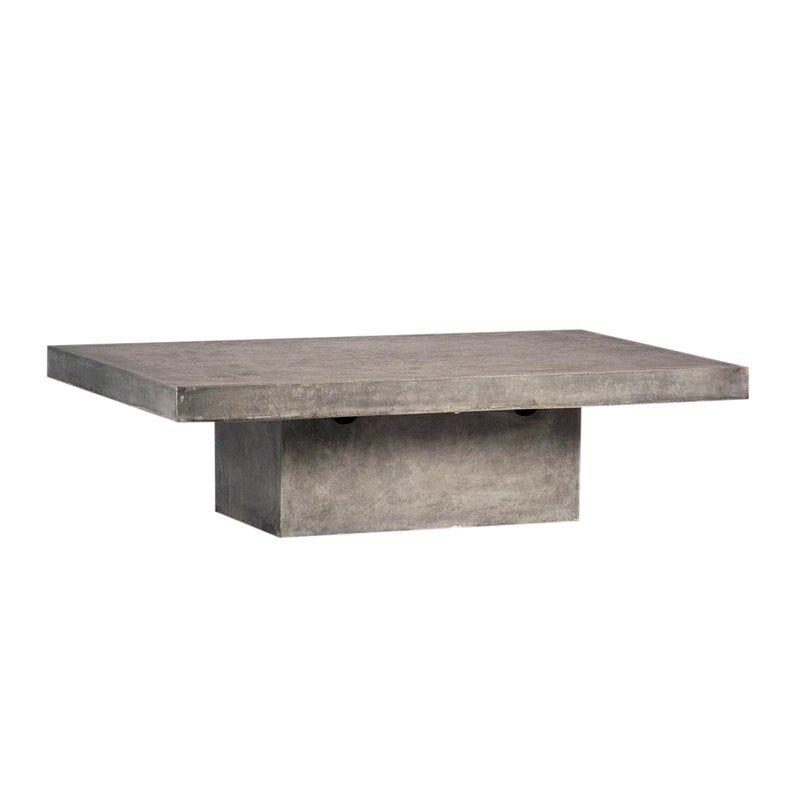 Outdoor Cement Resin Coffee Table Coffee Table Furniture Coffee Tables For Sale Concrete Coffee Table