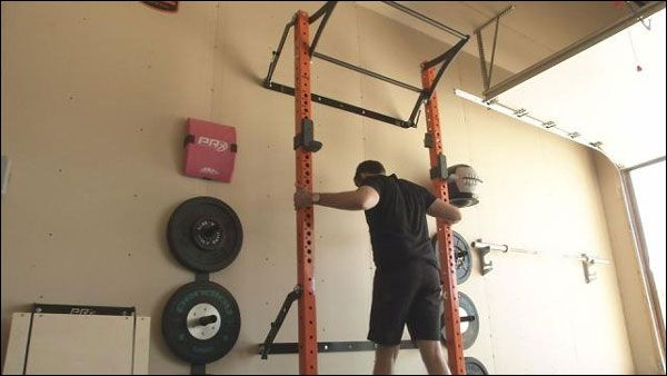 Folding wall mounted racks rigs buying guide gym garage