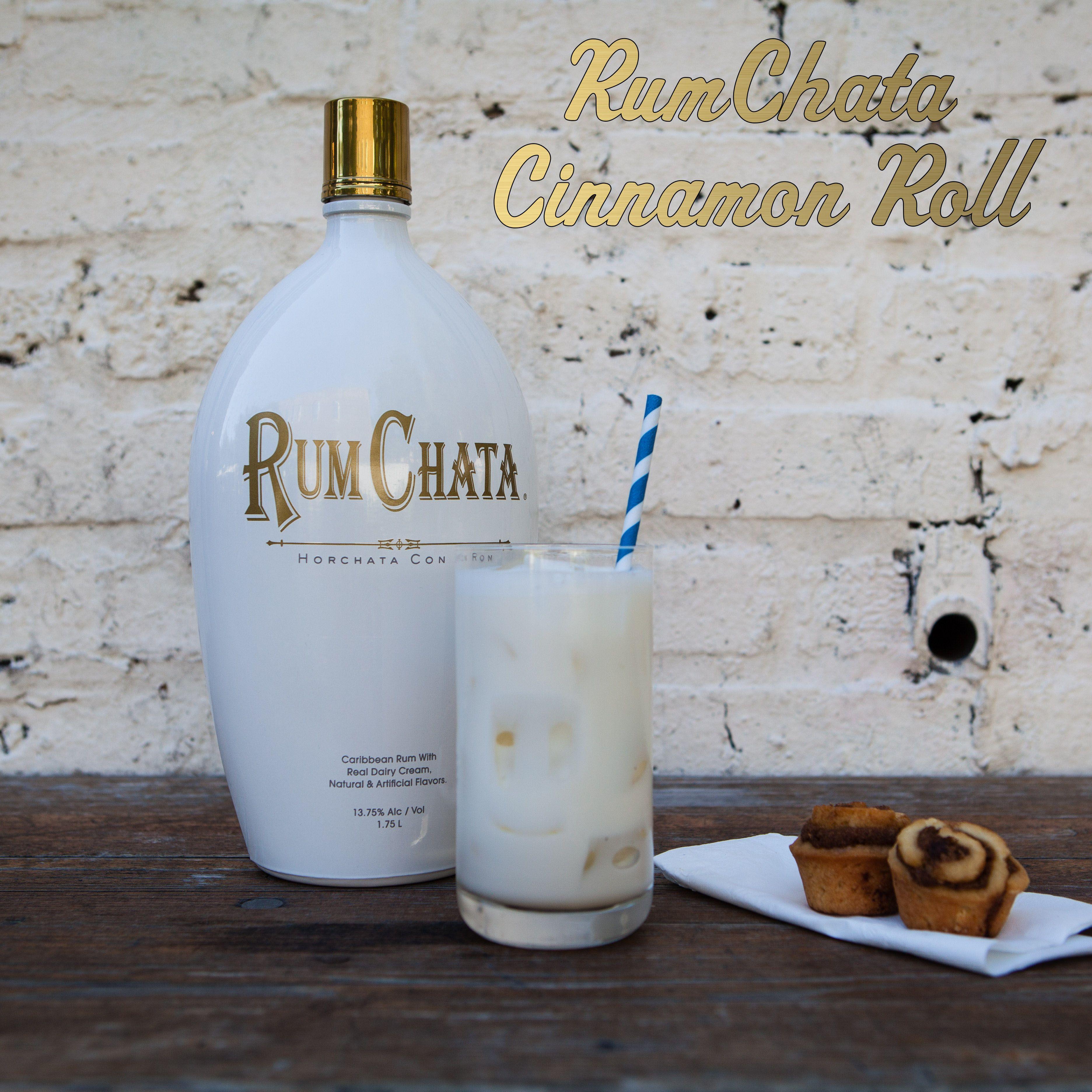 CINNAMON ROLL 1 part RumChata 1 part cake flavored vodka A splash