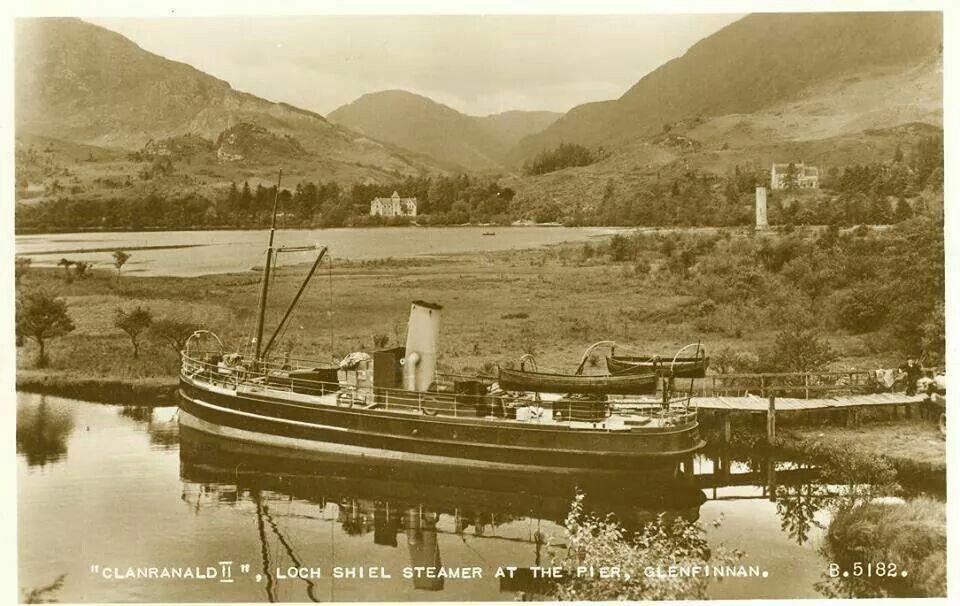Loch Shiel Steamer, Glenfinnan