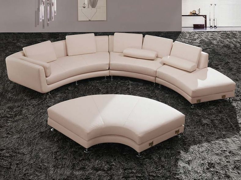 Modern Round Sofa - In changing the planning of your hall ...