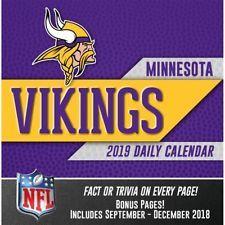 2019 Minnesota Vikings Desk Calendar, Minnesota Vikings by