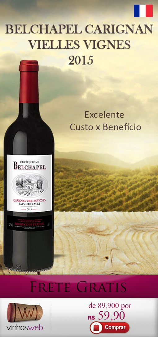 GloboMail Pro :: Excelente Frances de vinhas velhas e 10 meses de barrica, por 59,90