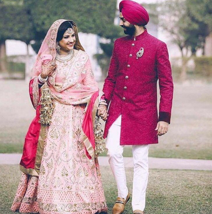 Pin de Avneet Kaur Saini en Punjabi weddings | Pinterest | Novios