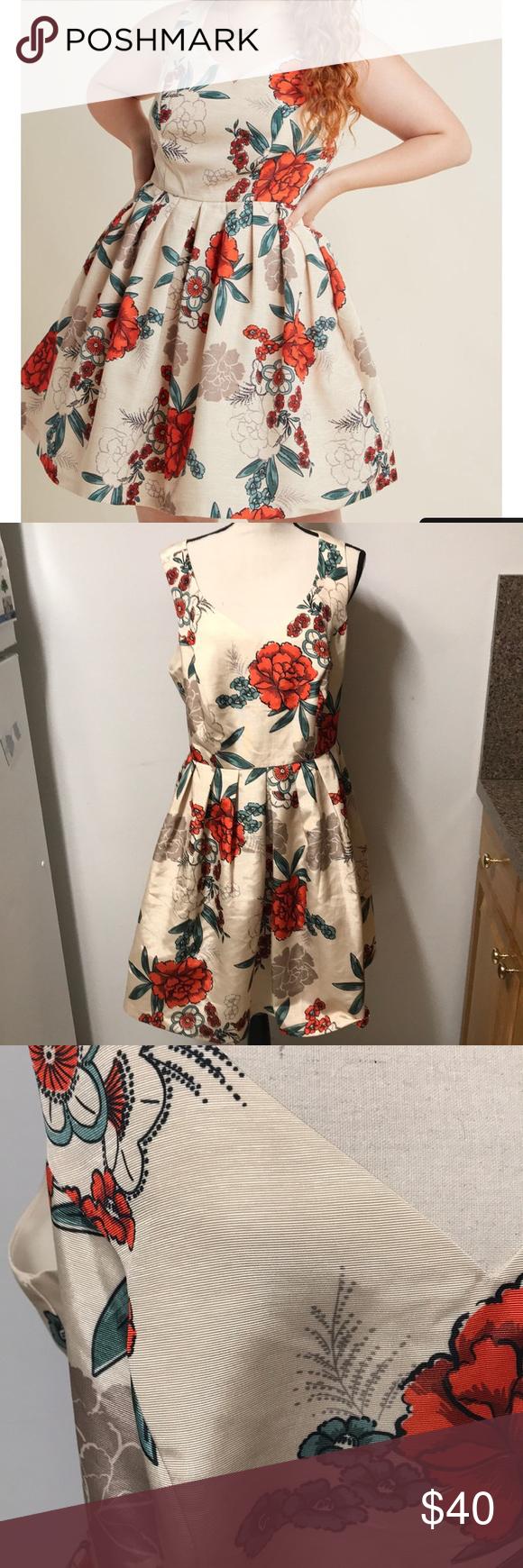 "64c96e7bb396e Modcloth elegant excellence dress size 1X Beautiful dress, like new. ""We  can'"