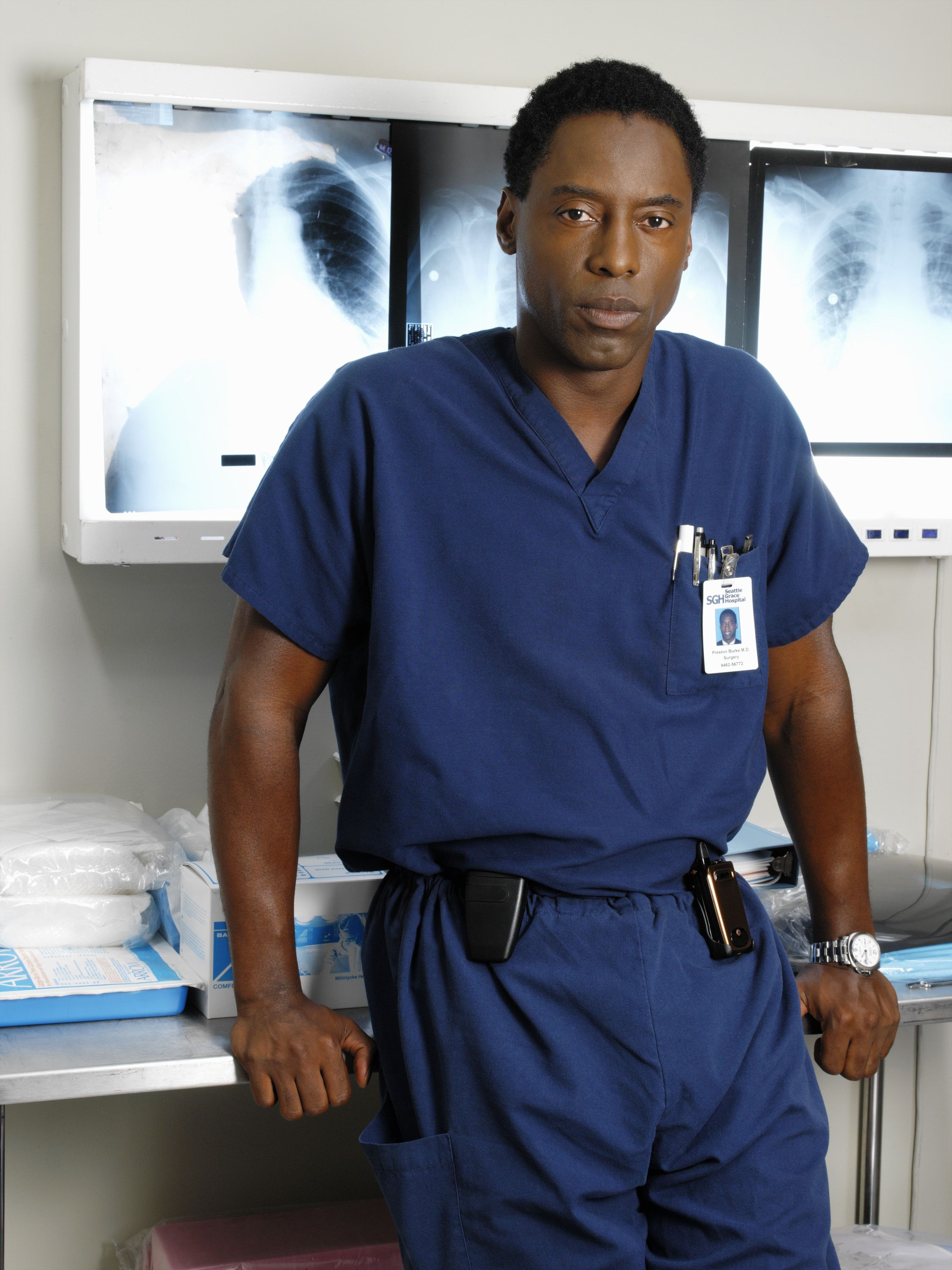 Isaiah Washington Bka Dr Preston Burke From Grey S Anatomy Love Him Preston Burke Greys Anatomy Greys Anatomy Facts