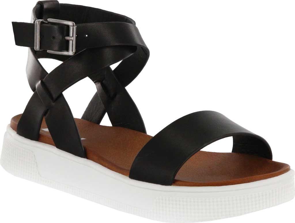 2be3fa1d83 Mia Calla Ankle Strap Sandal - Cognac Vachetta Pu 8