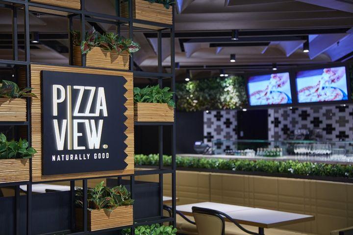 PizzaView Italian cuisine & pizza by MAS Studio, Beijing – China » Retail…